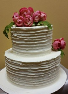 W12 - Ruffled Romance wedding cakes sydney
