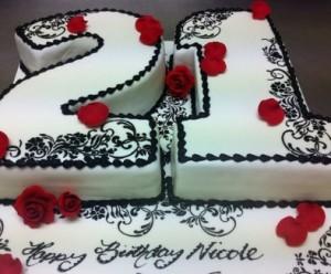 B15 – 21st Birthday Cake