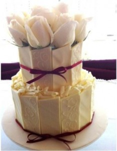 W8 - White Wedding wedding cakes sydney