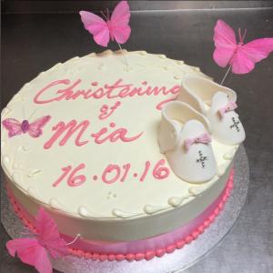 Christneing Cake