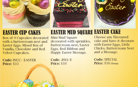 The Easter Bunny is almost here and we are celebrating with a festive range of  mouthwatering treats! These special products are available for order by phone or email only – contact us today! 02 9550 5982 or info@casadel.com.au