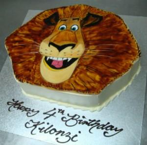 K24 - Lion Cake
