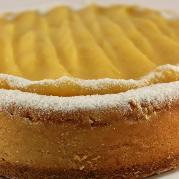 Double Baked Lemon Cheese Cake