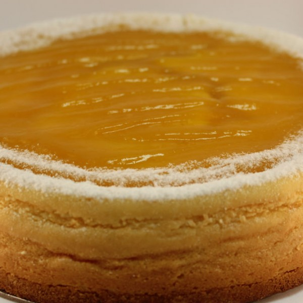 Double Baked Mango Cheese Cake