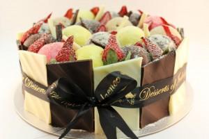 gelato tower cake