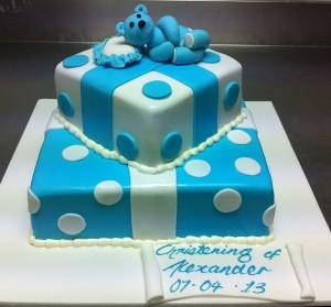 C9 - Teddy Bear Cake