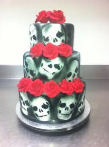N15 - Skull Cake