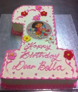 K7 - Dora's Number Cake
