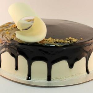 Chocolate Hazelnut Elegance gelato cake