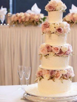 4 tier butter cream wedding cakes sydney