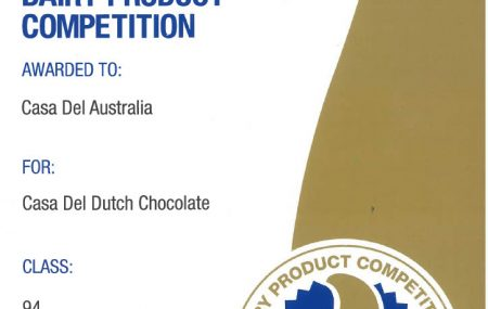 Gold and Silver Award winning Desserts, Gelato & Gelato Cakes in the 2019 DIAA Australian Dairy Product Competition.
