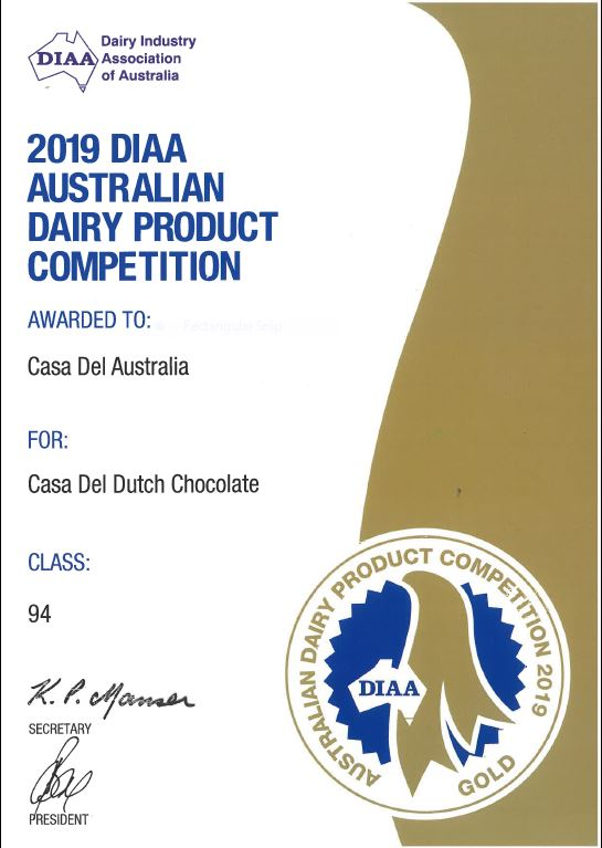 Dutch Chocolate Gold Medal