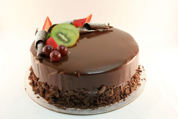 Exotic Chocolate Gelato Cake