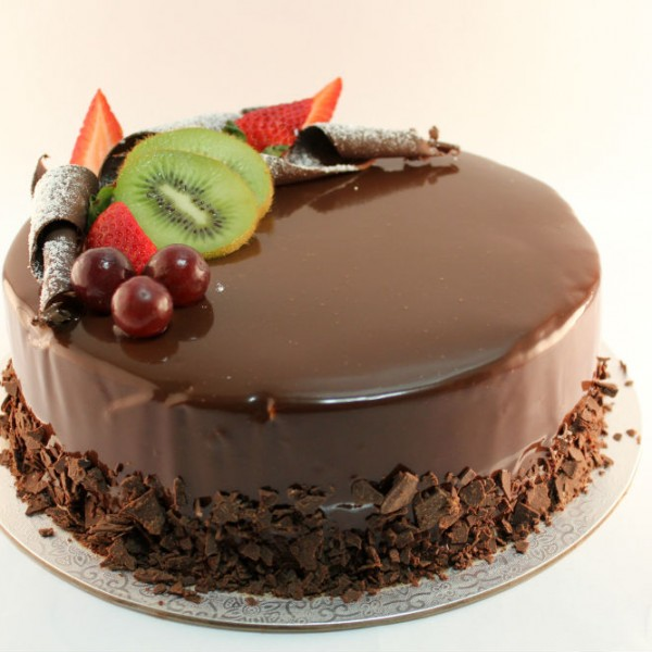 Exotic Chocolate Gelato Cake