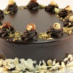 Going Nuts Gelato Cake