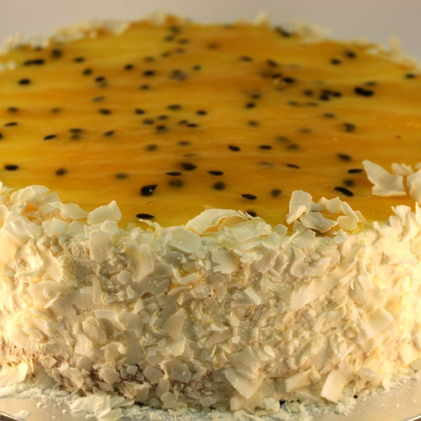 Coconut Mango Torte Hawaiian Passion