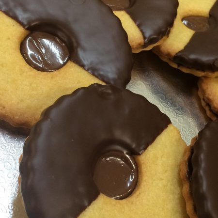 Nutella shortbread
