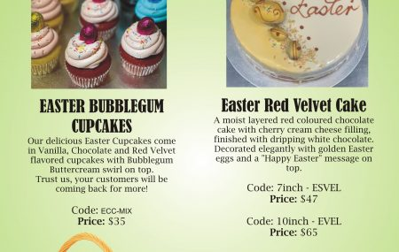The Easter Bunny is almost here and we are celebrating with a festive range of mouthwatering treats! These special products are available for order by phone or email only – contact us today! We are open Easter Saturday from 9am to 12pm. Pick ups Only 02 9550 5982 or info@casadel.com.au