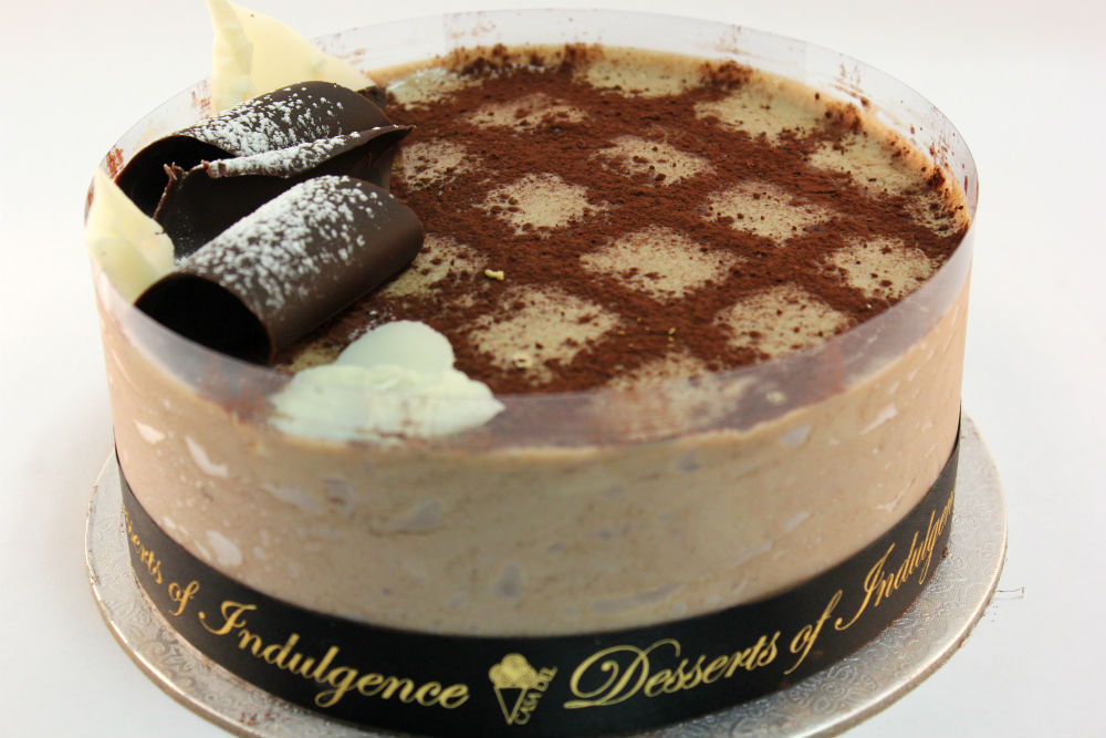 Swell Tiramisu Indulgence Gelato Cake Casa Del Desserts Sydney Funny Birthday Cards Online Necthendildamsfinfo