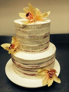 W11 - Naked Wedding cakes sydney