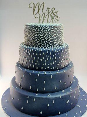 W1 - Mr & Mrs wedding cakes sydney