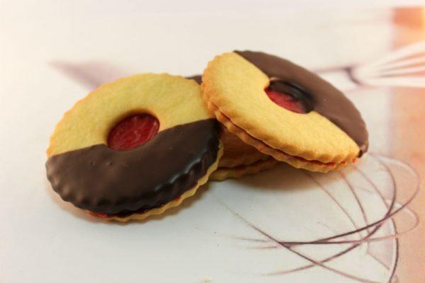 Raspberry Chocolate Shortbread