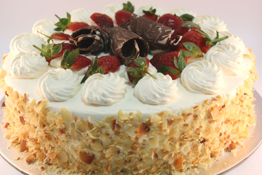 Continental with Strawberries