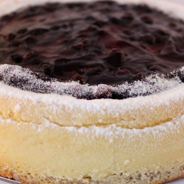 Double Baked Blueberry Cheese Cake