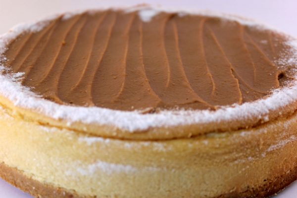 Double Baked Butterscotch Cheese Cake