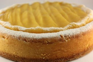 Double Baked Lemon Cheese Cake