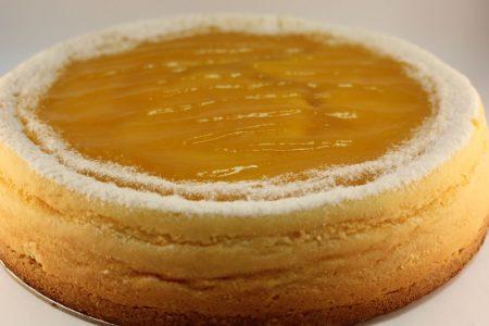 Double Baked Mango Cheese Cake