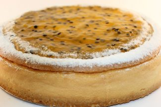 Double Baked Passionfruit Cheese Cake