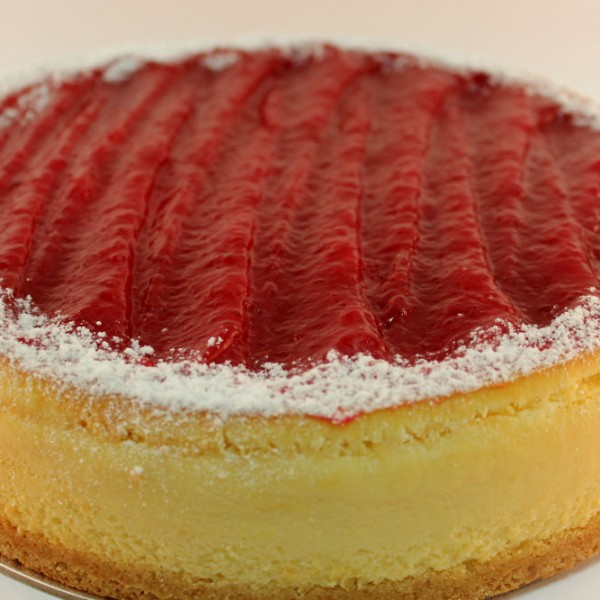 Double Baked Strawberry Cheese Cake