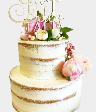 gold bless naked cake (002)