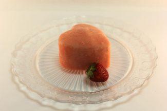 Gushing Heart Gelato Desserts