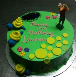 N29 - Golfer Cake