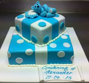 C9 - Teddy Bear Cake