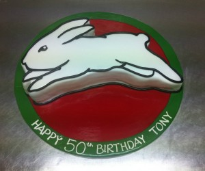N10 - Rabbitohs Cake