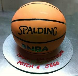 N19 - Basketball Cake