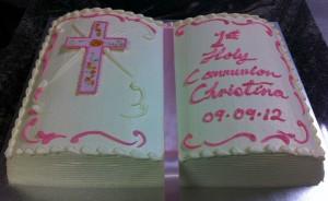 C5 - Bible Book Cake