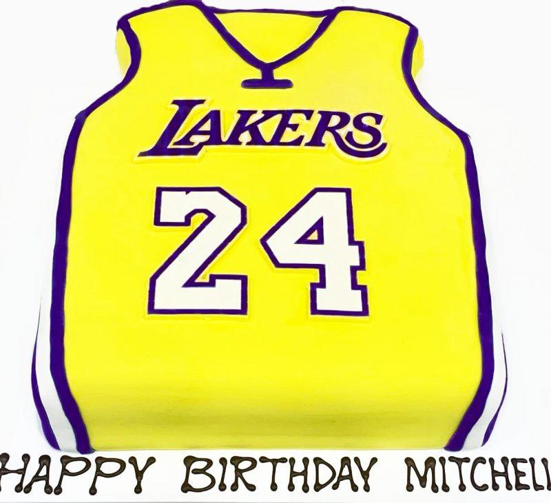lakers birthday cake b12