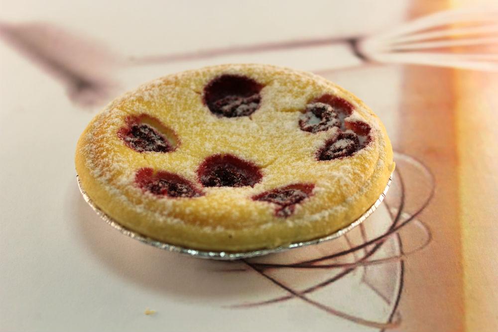 Raspberry Ricotta Tarts